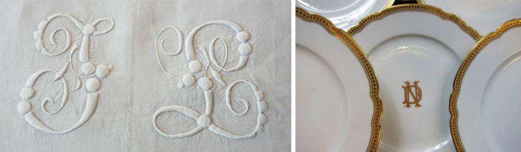 La typographie dans la création textile